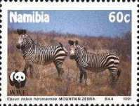 [Endangered Species - Mountain Zebra, Typ AL]