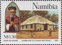 [The 100th Anniversary of Catholic Missions in Namibia, type EO]