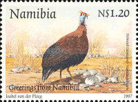 [Birds - Greetings Stamp, type FN]