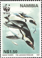 [Endangered Species - Jackass Penguin, type FR]