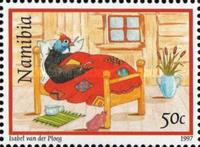 [Greeting Stamps - Guineafowl, type GF]