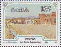 [The 100th Anniversary of Windhoek, type H]