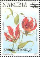 [Flora and Fauna Stamps of 1997 Surcharged, type HB1]