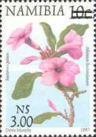 [Flora and Fauna Stamps of 1997 Surcharged, type HC1]