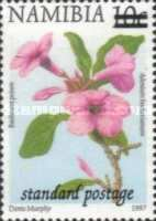 [Flora and Fauna Stamp of 1997 Surcharged, type HC2]