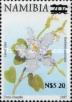 [Flora and Fauna Stamps of 1997 Surcharged, Typ HD4]