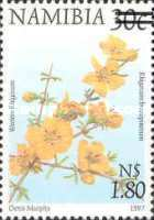 [Flora and Fauna Stamps of 1997 Surcharged, type HE1]