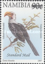 [Flora and Fauna Stamps of 1997 Surcharged, Typ HJ5]