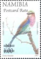 [Flora and Fauna Stamps of 1997 Surcharged, Typ HK5]