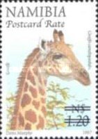 [Flora and Fauna Stamps of 1997 Surcharged, Typ HM1]