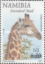 [Flora and Fauna Stamps of 1997 Surcharged, Typ HM2]