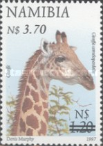 [Flora and Fauna Stamps of 1997 Surcharged, Typ HM3]