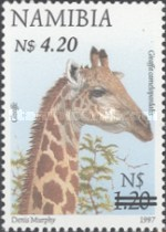 [Flora and Fauna Stamps of 1997 Surcharged, Typ HM4]