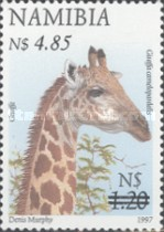 [Flora and Fauna Stamps of 1997 Surcharged, Typ HM5]