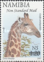 [Flora and Fauna Stamps of 1997 Surcharged, Typ HM6]