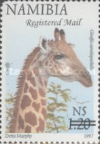 [Flora and Fauna Stamps of 1997 Surcharged, Typ HM7]