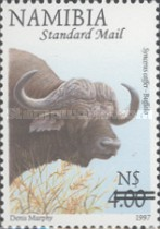[Flora and Fauna Stamps of 1997 Surcharged, Typ HQ3]