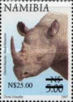 [Flora and Fauna Stamps of 1997 Surcharged, Typ HR1]
