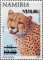 [Flora and Fauna Stamps of 1997 Surcharged, Typ HS2]
