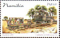 [The 100th Anniversary of Railroad in Namibia, Typ TW]