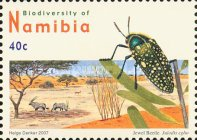 [Flora and Fauna - Biodiversity of Namibia, type UD]