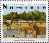 [The 100th Anniversary of Etosha National Park, Typ UX]