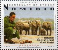 [The 100th Anniversary of Etosha National Park, Typ UY]