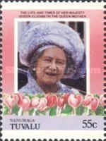 [The 85th Anniversary of the Birth of Queen Elizabeth, 1900-2002, Typ BG]