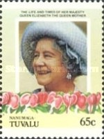 [The 85th Anniversary of the Birth of Queen Elizabeth, 1900-2002, Typ BJ]