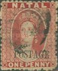 """[Overprinted """"POSTAGE"""" - No Dot After. See Also No. 38-42, type I]"""