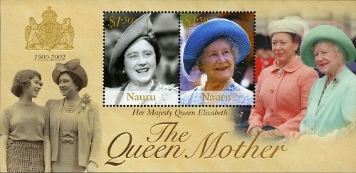 [Queen Elizabeth the Queen Mother Commemoration, 1900-2002, type ]