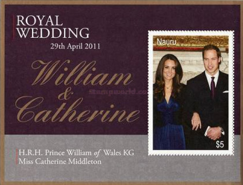 [Royal Wedding - H.R.H. Prince William of Wales & Miss Catherine Middleton, type ]