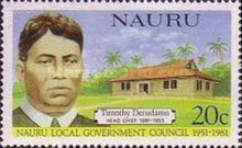 [The 30th Anniversary of Nauru Local Government Council - Head Chiefs, type FH]