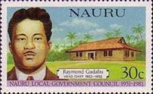 [The 30th Anniversary of Nauru Local Government Council - Head Chiefs, type FI]
