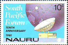 [The 10th Anniversary of South Pacific Forum, type FX]