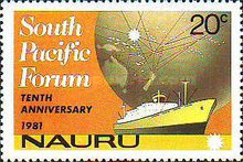 [The 10th Anniversary of South Pacific Forum, type FY]