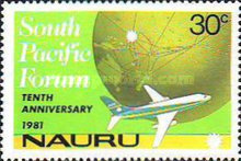[The 10th Anniversary of South Pacific Forum, type FZ]