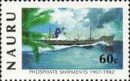 [The 75th Anniversary of Phosphate Shipments, type GR]