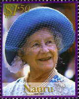 [Queen Elizabeth the Queen Mother Commemoration, 1900-2002, type QW]