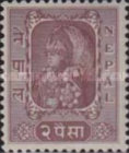 [King Tribhuvan in his Coronation Robes, type R]