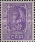 [King Tribhuvan in his Coronation Robes, type R3]
