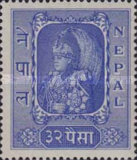 [King Tribhuvan in his Coronation Robes, type S3]