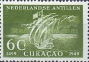 [The 450th Anniversary of Discovery of Curacao, type A]