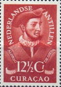 [The 450th Anniversary of Discovery of Curacao, type B]