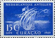 [The 450th Anniversary of Discovery of Curacao, type C]