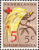 [Red Cross - Numbers 26-28 Overprinted in Red, type E2]