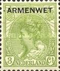 [Poor Law Stamps - Netherlands Postage Stamps of 1899-1913 Overprinted