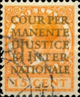 [International Court of Justice - Postage Stamps of 1926-1933 Overprinted