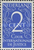 [Numeral Stamps - International Court of Justice - Inscription