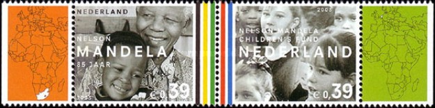 [The 85th Anniversary of the Birth of Nelson Mandela, Typ ]